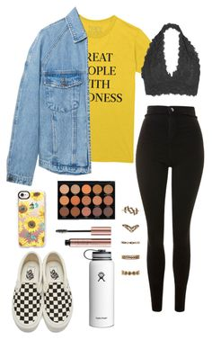 """Untitled #64"" by cannjoy on Polyvore featuring MANGO MAN, Youmita, Topshop, Vans, Casetify and Forever 21"