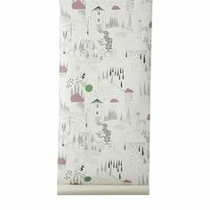In The Rain tapet - multi - Ferm Living