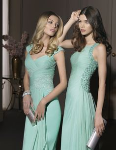 Bridesmaids Dresses // Aire Barcelona 2014 Cocktail Collection