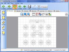 www.perfecttableplan.com  Easy way to arrange tables, print seating charts, place cards...