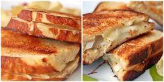 pretzel bread grilled cheese