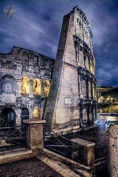 Rome, The Colosseum - The Flavian Amphitheatre