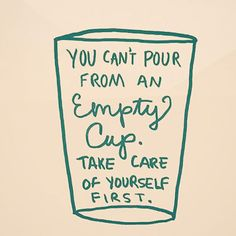 Remember...you can't pour from an empty cup. Self-care is key when you are caring for  a loved one ☝️ #selfcare #selflove #caregiving #caregiverlife #caregiver #respite #aging #seniorcare #familycaregiver #wellness #caregiverwellness #dementia #cancer #diabetes #alzheimers #seniorhousing #seniors #55plus #55condos - posted by Trualta Caregiving Tips https://www.instagram.com/caregivingtips - See more Senior Care and 55+ Community detailes at https://55.condos