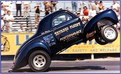 Wheelstandin' Willys gasser