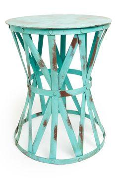 turquoise stool