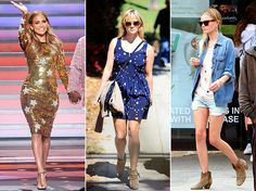 Would you wear star prints this spring? J. Lo, Reese and Kate all have!