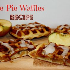 Apple Pie Waffles Recipe! – Must Have Mom || http://musthavemom.com/2013/06/apple-pie-waffles-recipe.html