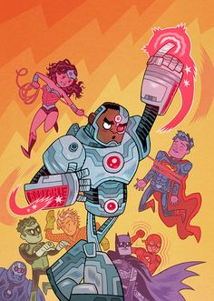 "OP: ""DC Comics' variant cover theme for July is 'Teen Titans GO!' I had fun."" | Batman"