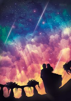 CULTURE N LIFESTYLE — Stunning Surreal Skyscape Illuminated With...
