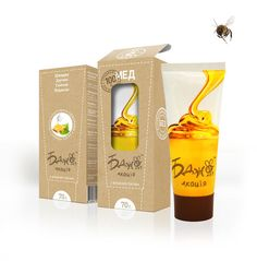 Squeezable Honey Tubes - Affiniti's Honey Package Design Trades in a Glass Jar for a Plastic Tube (GALLERY)