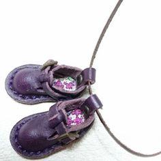 リバティが可愛いちっちゃい靴♪ - +RIN+ 大人可愛い『革』のアクセサリー♪