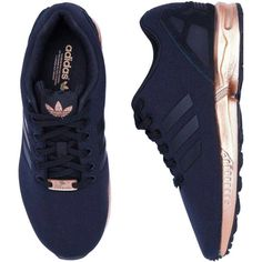 994f12359777 ISO  Adidas ZX Flux Black Copper Metallic Black Adidas with the copper  soles.