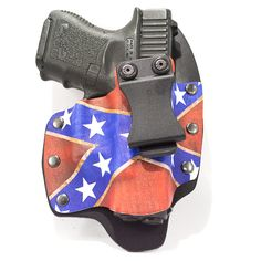 Image of Confederate Flag on Kydex NT Gun Holster Confederate Flag, Gun Holster, Kydex, Concealed Carry, Image, Collection, Conceal Carry