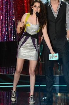 Sneak Attack! A Brief History of Kristen Stewart Wearing Sneakers Inappropriately