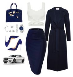 """""""Sin título #848"""" by alondra129 ❤ liked on Polyvore featuring Harris Wharf London, Dorothy Perkins, Gucci, BMW, Pandora, Mark Broumand and Hermès"""