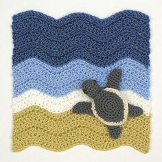 turtle beach square crochet pattern by planetjune