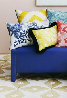 Lately, the design world has been crushing on one thing: a colorful print. Click and scroll to check out these 6 Australian home decor brands. The pattern-centric pieces will allow you to create the luxury home you've been searching for.