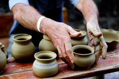 Handmade Hungarian Pottery by TommyP, via Flickr