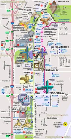 attractions monorail hotels vegas strip maps las map of 4 1 4 Las Vegas Strip Map of Attractions Hotels Monorail MapsYou can find Las vegas hotels and more on our website Las Vegas Hotels, Las Vegas Airport, Las Vegas Attractions, Las Vegas Vacation, Vegas Fun, Cheap Vegas Trip, Mgm Grand Las Vegas, Las Vegas Nevada, Travel Tips