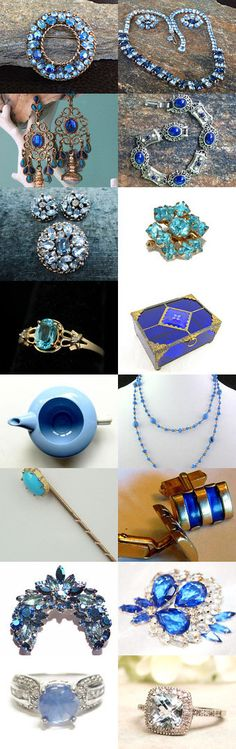 Blue For You, Ali -- VJT SOTW Promo by Randy and Lynn on Etsy--Pinned with TreasuryPin.com