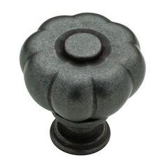 "Liberty Hardware - Abella - 1 1/4"" Fluted Knob in Soft Iron"