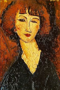 Amedeo Modigliani - Young Woman of Montmartre