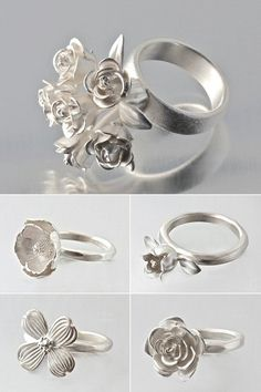 TheCarrotbox.com modern jewellery blog : obsessed with rings // feed your fingers!: Elise Moran / Theresa Marr