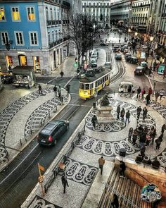 City view ~ Lisbon, Portugal Photo: Congrats Founders: - Best Places to Visit X Visit Portugal, Portugal Travel, Spain And Portugal, Places Around The World, Travel Around The World, Saint Marin, Places To Travel, Places To Visit, S Bahn
