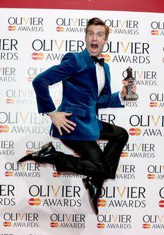Gavin Creel - Olivier Awards 2014