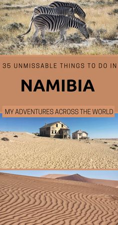 Namibia is one of the coolest countries to visit in the world. Traveling around the country is easy, and there are many things to do in Namibia. This post highlights 35 of them Namibia travel Namibia desert via Countries To Visit, Cool Countries, Africa Destinations, Travel Destinations, Places To Travel, Places To See, Chobe National Park, Camping, Africa Travel