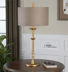 Uttermost Heraclius Gold Table Lamp (26188)