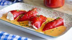 Pimientos del piquillo rellenos: cinco recetas fáciles y originales New Recipes, Cooking Recipes, Fine Dining, Strawberry, Fruit, Ethnic Recipes, Desserts, Angeles, Food