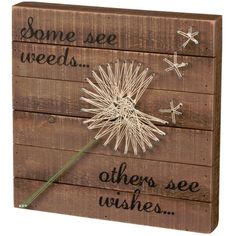 Primitives by Kathy String Wall Art - Wishes - 30457