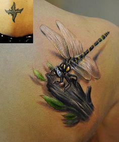 2 dragonfly tattoo