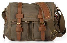 d751d1010 Bolsa Masculina Militar Tiracolo - Lona De Algodão Acessórios Masculinos,  Roupas, Sapatos, Bolsas