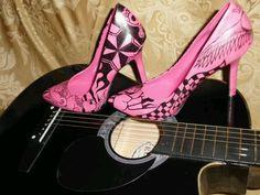 Bellish Shoes, custom hand painted designs