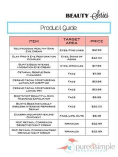 Yard Sale Pricing Guide Free Printable Pure Amp Simple