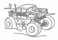 bigfoot presents coloring pages - photo#37