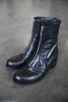 Boots with Reflective Detail | cendre