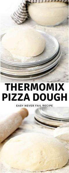 Making Thermomix Pizza Dough -A never fail pizza dough recipe. via Th… Making Thermomix Pizza Dough -A never fail pizza dough recipe. via ThermoKitchen Thermomix Pizza Dough, Thermomix Bread, Thermomix Recipes Healthy, Oven Recipes, Pizza Recipes, Lunch Recipes, Cheddarwurst Recipe, Dough Recipe, Making Recipe