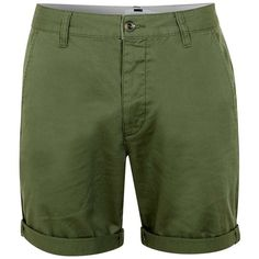 Bellfield Pollstead Shorts - Khaki (69 CAD) ❤ liked on Polyvore ...