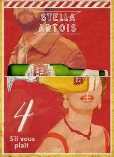 Stella Artois, basically the best beer EVER Stella Artois Beer, Oktoberfest Shirt, Beer Poster, Beer Company, How To Apologize, Best Beer, Beer Lovers, Vintage Posters, Beer Bottle