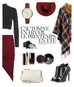 """Autumn Love"" by wearall ❤ liked on Polyvore featuring Été Swim, WearAll, Kate Spade, Tom Ford, Gorgeous Cosmetics, Chanel and FOSSIL"