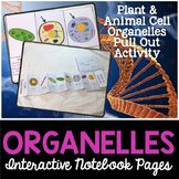 Animal and Plant Cell Organelles Interactive Notebook Pages Teach middle school biology students in the science classroom. Grade 5th 6th 7th 8th 9th 10th