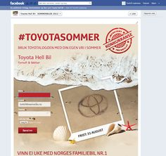 Summer 2012 campaign for Toyota