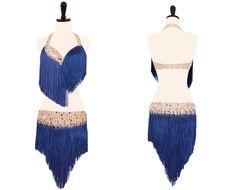 Wild Blue Yonder - Encore Ballroom Couture