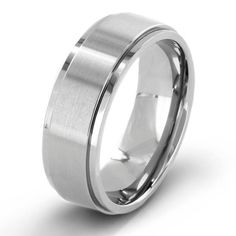 Crucible Men's Brushed 7mm Titanium Comfort-fit Wedding Band? Add a fashionable yet simple piece to your accessories collection with this stylish titanium ring. Featuring a brushed finish that makes it stand out and a contoured, comfort-fit band, this striking ring makes the perfect addition to any wardrobe.   Make an investment that lasts a lifetime with the strength and durability of titanium. Because titanium is stronger than gold or many other precious metal options, this ring is scratch…