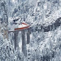 Landwasser viaduct, Switzerland....
