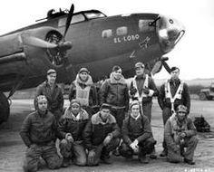 "B-17 F 41-24593 364th BS KF-G "" El Lobo"