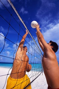 Beach volleyball with friends-may be too hot for a summer activity-will have to add it to my fall/winter board!